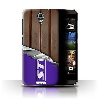 STUFF4 Case/Cover voor HTC Desire 820 Mini/verpakt vingers/Sticks/chocolade