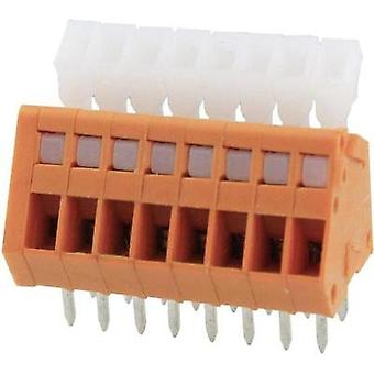 Spring-loaded terminal 0.51 mm² Number of pins 6 DG240-2.54-06P-15-00AH Degson Orange 1 pc(s)