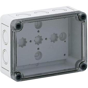 Build-in casing 130 x 94 x 57 Polycarbonate (PC), Polystyrene (EPS) Light grey (RAL 7035) Spelsberg PS 1309-6-tm 1 pc(s