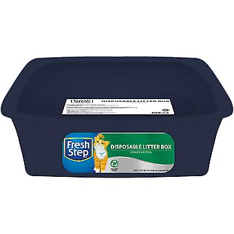 Fresh Step Disposable Litter Pan-Blue FFP8302S