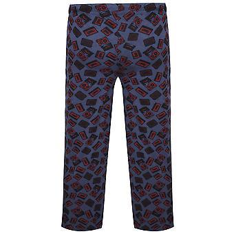 BadRhino azul Marga Cassette cinta Loungewear impresión fondos