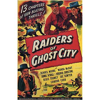 Raiders of Ghost City Movie Poster Print (27 x 40)
