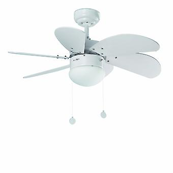 "Faro ceiling fan Palao White 76 cm / 30"" with lighting"