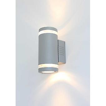 Wall lamp of big UpDown 3 GU10 2x50W IP54 grey 10504