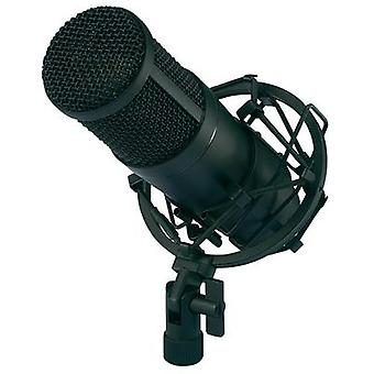 USB studio microphone Renkforce CU-4 Corded incl. cable, incl. case, incl. shock mount