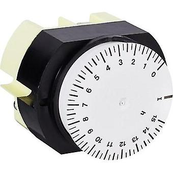 Front panel mount timer analogue Suevia 346 K15 WS 230 Vac 16 A/250 V