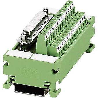 Phoenix Contact 2962735 UM 45-D15SUB/B VARIOFACE-Module For D-SUB-Socket Terminal Strip - Series UM 45 D 0.14 - 1.5 mm²