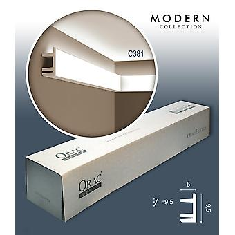 ORAC decor C381 MODERN 1 box SET with 18 corner mouldings moldings | 36 m