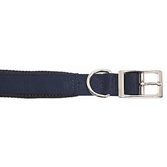 Classic Soft Protection Nylon Padded Collar N/blue 14x5/8