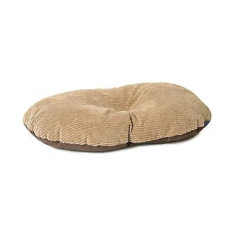 Sleepy Paws Oval Cushion Timberwolf 90x60cm