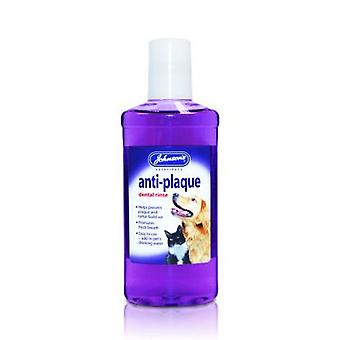 Jvp Dog & Cat Anti-plaque Dental Rinse 250ml (Pack of 3)