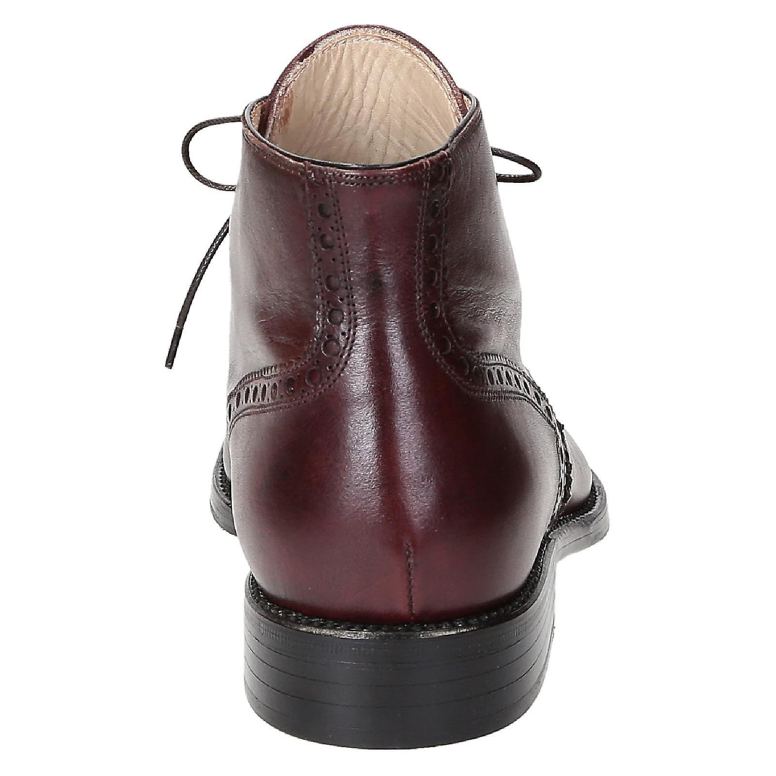des chaussures bottes en cuir chaussures des des hommes en bourgogne 0da16d