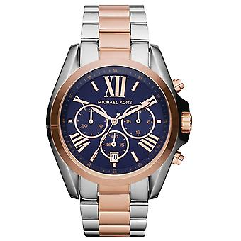 Michael Kors MK5606 Stainless Steel Rose Gold Chronograph Wrist Watch