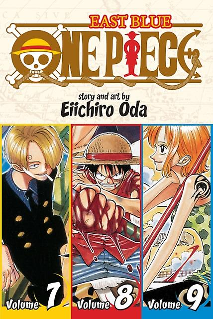 One Piece (3-in-1 Edition) Volume 3 (One Piece (Omnibus Edition)) (Paperback) by Oda Eiichiro