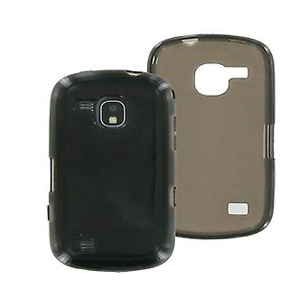 OEM Verizon Samsung Continuum SCH-I400 High Gloss Silicone Case (Black) (Bulk Pa