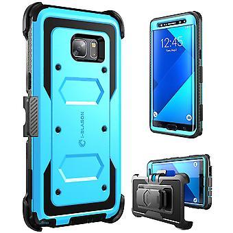 i-Blason-Galaxy Note 7 caso Armorbox Fullbody caso-azul