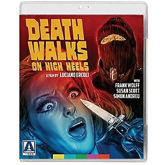 Død gåture på høje hæle [Blu-ray] USA import