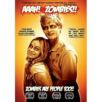 Aaah! Zombies!! [DVD] USA import