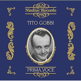 Tito Gobbi - Prima Voce: Tito Gobbi [CD] USA import