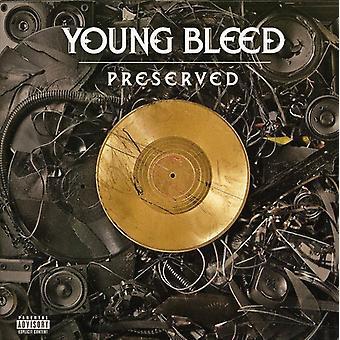 Unge bløder - konserverede [CD] USA importerer