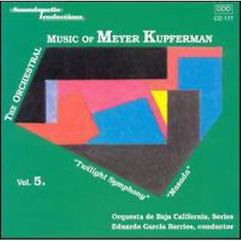 M. Kupferman - orkester musik af Meyer Kupferman, Vol. 5 [CD] USA importerer