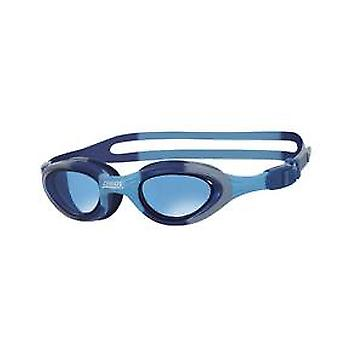 Zoggs Super Seal Junior Swim Goggle - Tinted Lens -Blue Camo