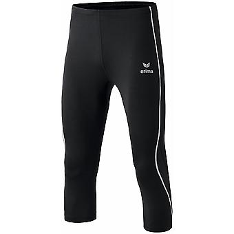 Erima men performance running tights 3-4 running trousers black - 829201