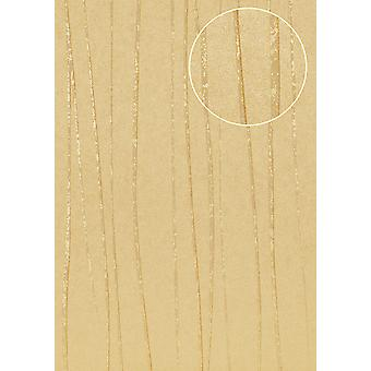 Stripes Atlas perl-beige beige 5.33 m2 COL-567-7 non-woven wallpaper smooth lustrous design