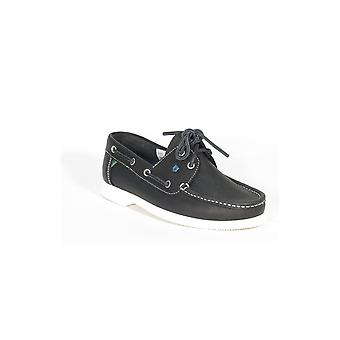 Dubarry Admirals Womens Shoe Navy Leather