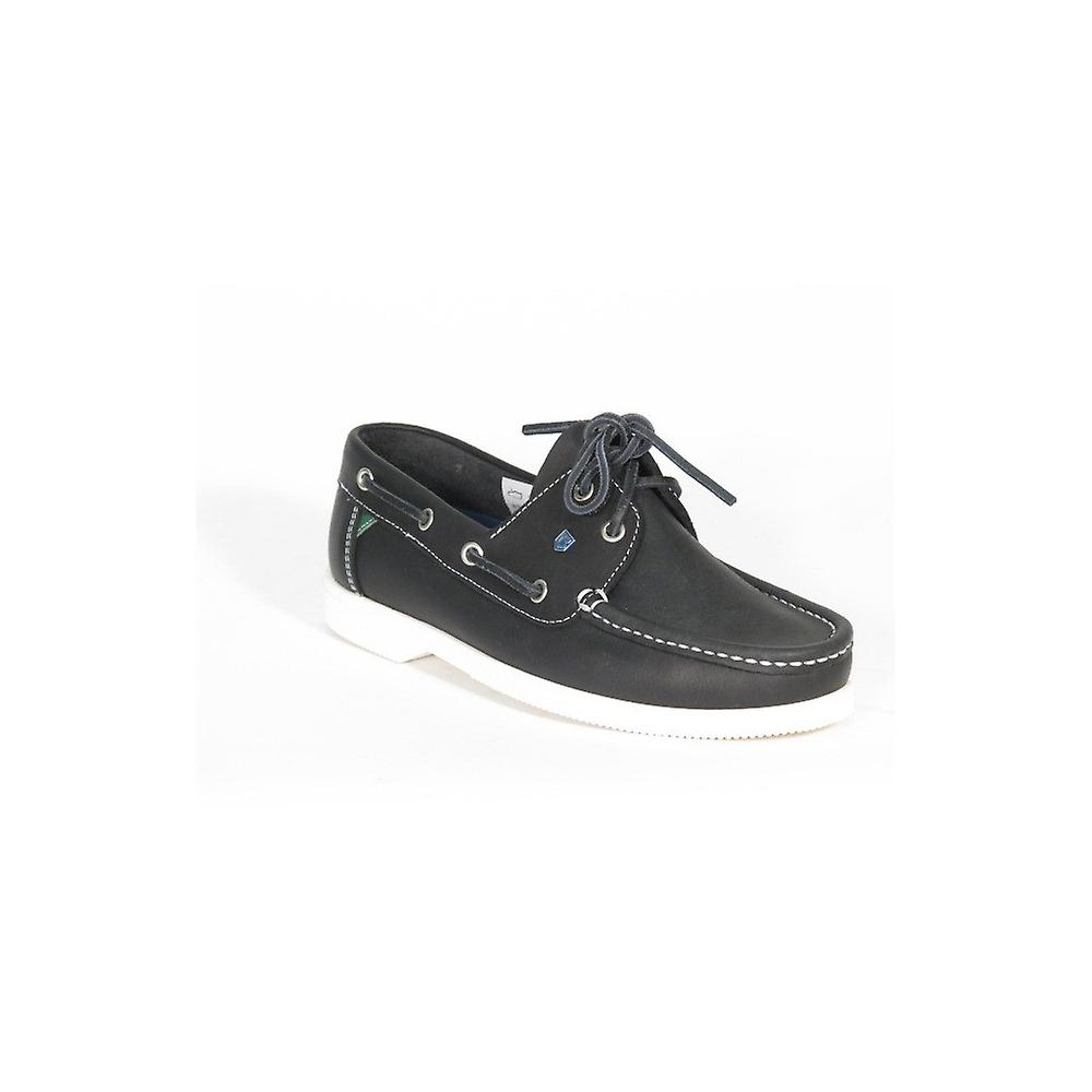Dubarry Admirals Womens Shoe Navy Leather Leather Navy f84f33