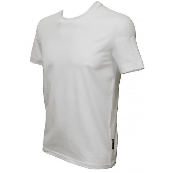 Dolce & Gabbana Pure Cotton Round Neck Girocollo T-Shirt, White