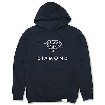 Diamond Supply Co Futura Sign Hoodie Navy