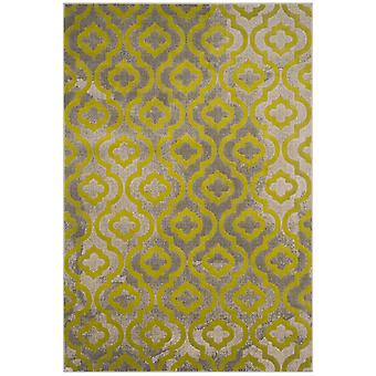 Short-pile woven rug living room indoor carpet grey green indoor rugs - Pacific Evergreen Grey Green 70 / 275 cm - rug for the living room inside