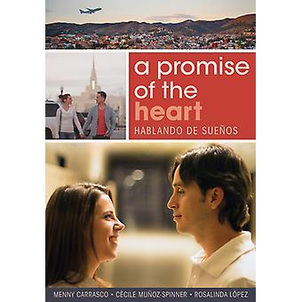 Et løfte om hjertet [DVD] USA importerer