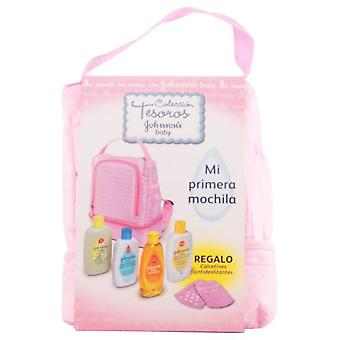 Johnson's Rosa Pack Backpack 5 Pieces (Children , Perfume)