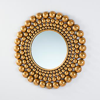 Wellindal Espejo 76x2 Metal Oro (Home , Decoration , Mirrors)
