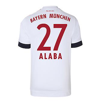 2015-16 Bayern Munich Away Shirt (Alaba 27)