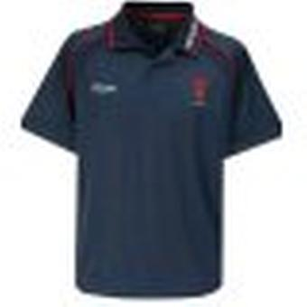 REEBOK wales rugby players travel polo
