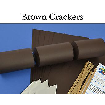 Brown Make & Fill Your Own Cracker Making Craft Kits, Boards & Accessories
