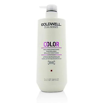 Goldwell Dual Senses Color Brilliance Conditioner (Luminosity For Fine to Normal Hair) - 1000ml/33.8oz