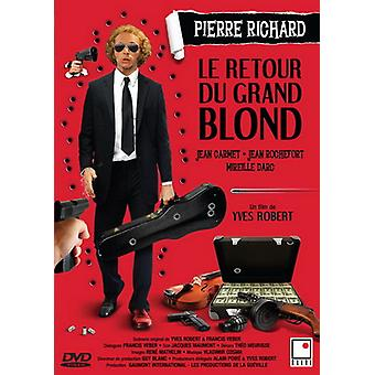 Le Retour Du Grand Blond [DVD] EUA importar