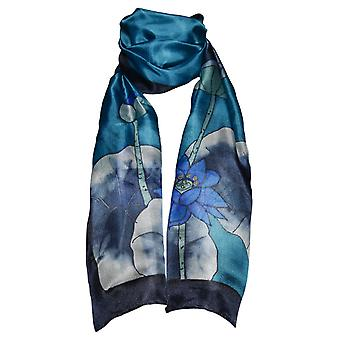 Invisible World Women's Hand-Painted 100% Silk Scarf