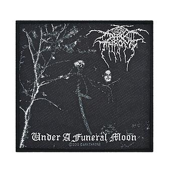 Darkthrone Under A Funeral Moon Patch gewebt