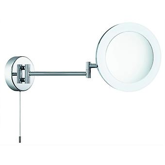 Chrome Swing Arm Led Magnifying Mirror - Searchlight 1456cc