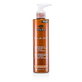 Nuxe Reve De Miel ansigt Cleansing & Makeup fjernelse - 200ml / 6.7 oz