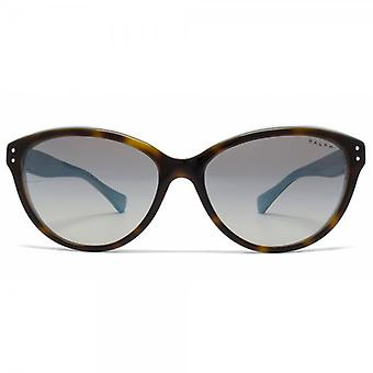 Ralph By Ralph Lauren Essential Cateye Sunglasses In Tortoise Turquoise