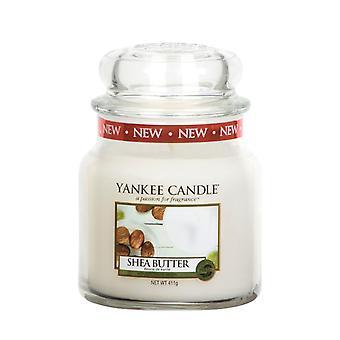 Yankee Candle Classic 411g Shea Butter Medium Jar Candle