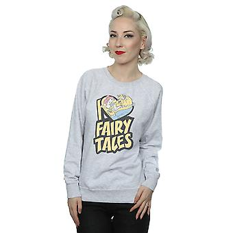 Disney Women's Beauty And The Beast I Love Fairy Tales Sweatshirt