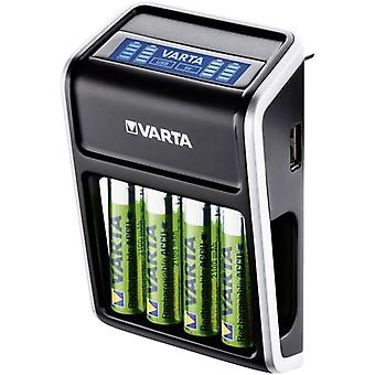 Charger for cylindrical cells NiMH incl. rechargeables Varta LCD