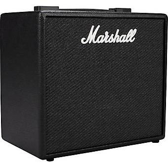 Electric guitar amplifier Marshall CODE 25 Black